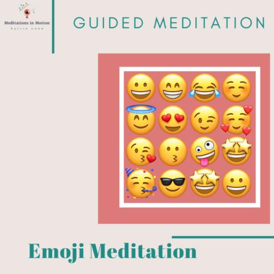 emoji meditation for happiness